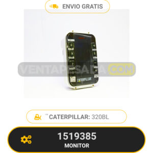 1519385 Monitor Caterpillar 320BL
