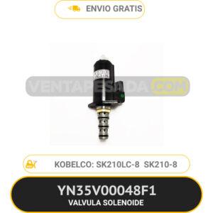 YN35V00048F1 VALVULA SOLENOIDE SK210LC-8 SK200-8 KOBELCO