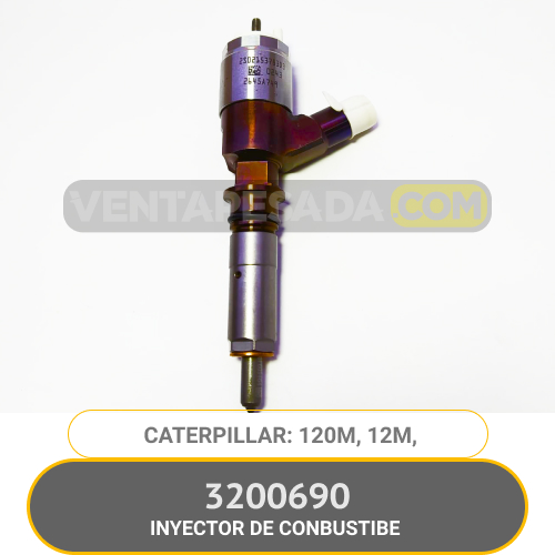 3200690 INYECTOR DE COMBUSTIBLE 120M 12M CATERPILLAR