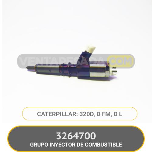 3264700 GRUPO INYECTOR DE COMBUSTIBLE 320D, D FM, D L CATERPILLAR