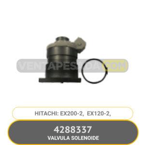 4288337 VALVULA SOLENOIDE EX200-2 EXX120-2 HITACHI
