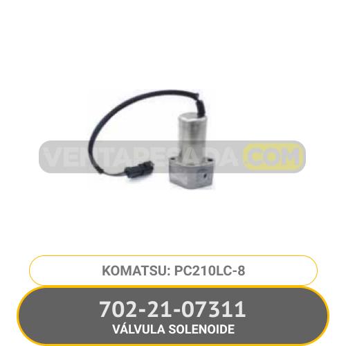 702-21-07311 VÁLVULA SOLENOIDE PC210LC-8, KOMATSU