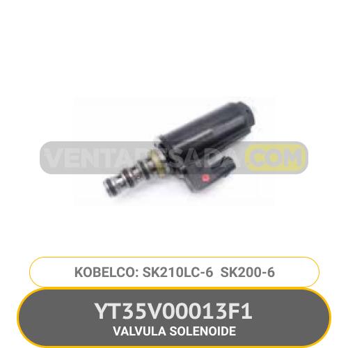 YT35V00013F1 VALVULA SOLENOIDE SK210LC-6 SK200-6 KOBELCO