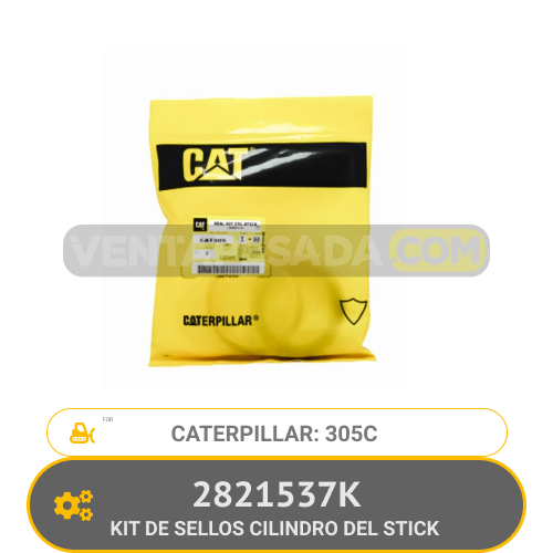 2821537K KIT DE SELLOS CILINDRO DEL STICK 305C CATERPILLAR