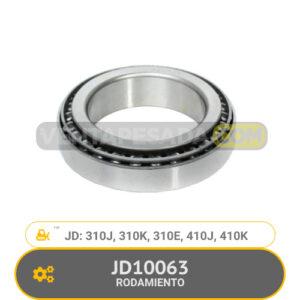 JD10063 RODAMIENTO 310J, 310K, 310E, 410J, 410K, JD