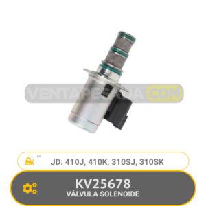 KV25678 VÁLVULA SOLENOIDE 410J, 410K, 310SJ, 310SK, JD