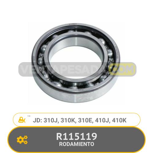 R115119 RODAMIENTO 310J, 310K, 410J, 410K, JD