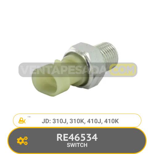 RE46534 SWITCH 310J, 310K, 410J, 410K, JD