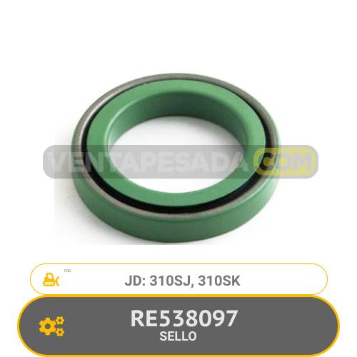 RE538097 SELLO 310SJ, 310SK, JD