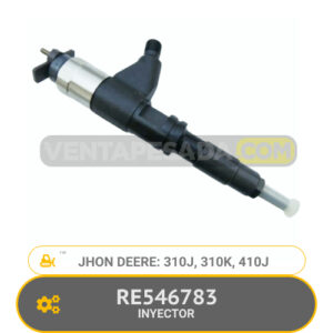 RE546783 INYECTOR 310J, 310K, 410J, JHON DEERE