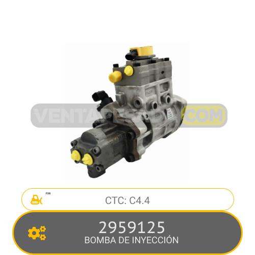 2959125 BOMBA DE INYECCIÓN C4.4 CTC