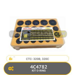 4C4782 KIT O-RING 320B, 320C, CTC