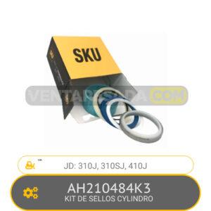 AH210484K KIT DE SELLOS CYLINDRO 310J, 310SJ, 410J, JD