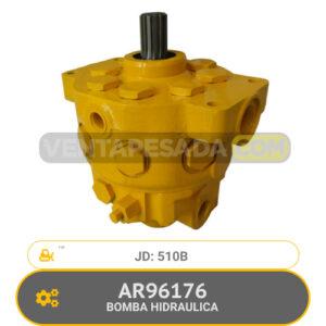 AR96176 BOMBA HIDRAULICA 510B JD