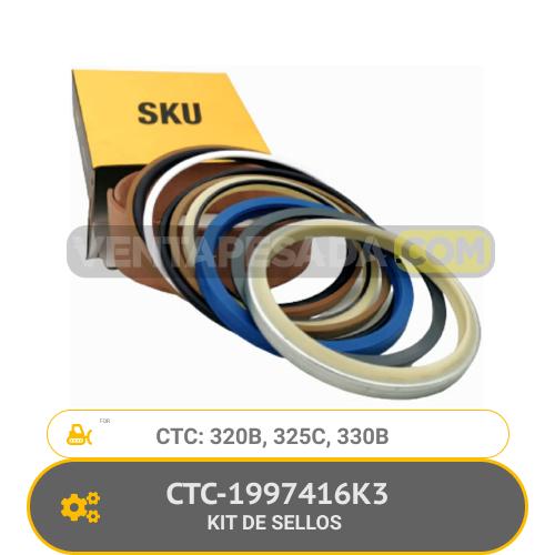 CTC-1997416K3 KIT DE SELLOS 320B, 325C, 330B, CTC