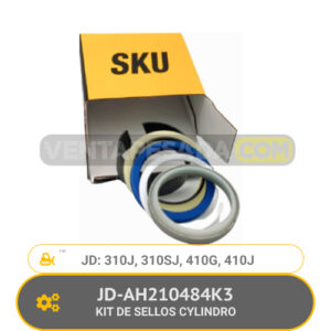 JD-AH210484K3 KIT DE SELLOS CYLINDRO 310J, 310SJ, 410G, 410J, JD