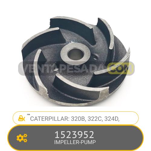 1523952 IMPELLER PUMP 320B, 322C, 324D, CATERPILLAR