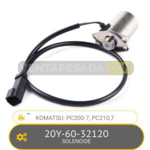 20Y-60-32120 SOLENOIDE PC200-7, PC210-7, KOMATSU