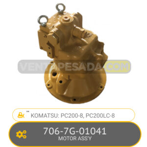 706-7G-01041 MOTOR ASSÝ PC200-8, PC200LC-8, KOMATSU