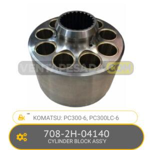 708-2H-04140 CYLINDER BLOCK ASS'Y PC300-6, PC300LC-6, KOMATSU