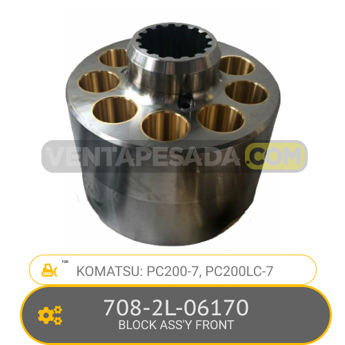 708-2L-06170 BLOCK ASS' FRONT PC200-7, PC200LC-7, KOMATSU