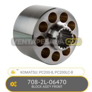 708-2L-06470 BLOCK ASS' FRONT PC200-8, PC200LC-8, KOMATSU