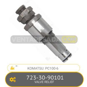 723-30-90101 VALVE RELIEF PC100-6 KOMATSU