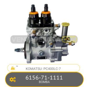 6156-71-1111 BOMBA PC400LC-7, KOMATSU