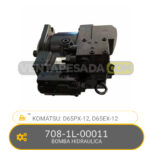 708-1L-00011 BOMBA HIDRAULICA D65PX-12, D65EX-12 KOMATSU