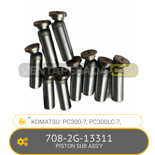 708-2G-13311 PISTON SUB ASS'Y PC300-7, PC300LC-7, KOMATSU