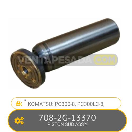 708-2G-13370 PISTON SUB ASS'Y PC300-8, PC300LC-8, KOMATSU