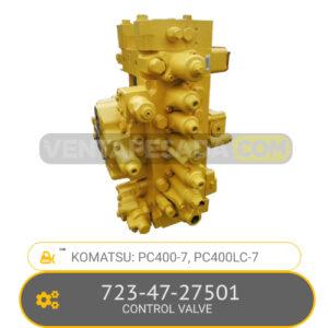 723-47-27501 CONTROL VALVE PC400-7, PC400LC-7, KOMATSU