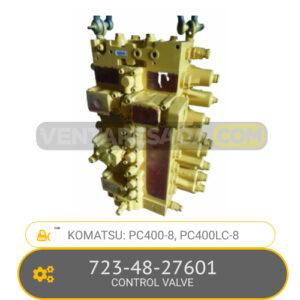 723-48-27601 CONTROL VALVE PC400-8, PC400LC-8, KOMATSU