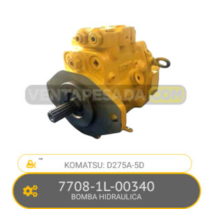 7708-1L-00340 BOMBA HIDRAULICA, D275A-5D KOMATSU