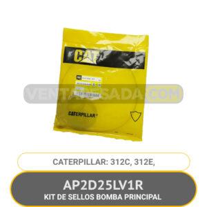 AP2D25LV1R KIT DE SELLOS BOMBA PRINCIPAL 312C, 312E, CATERPILLAR