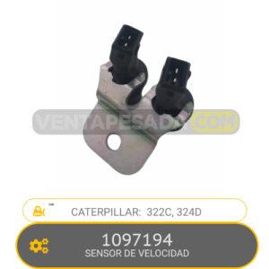 1097194 SENSOR DE VELOCIDAD 322C, 324D, CATERPILLAR