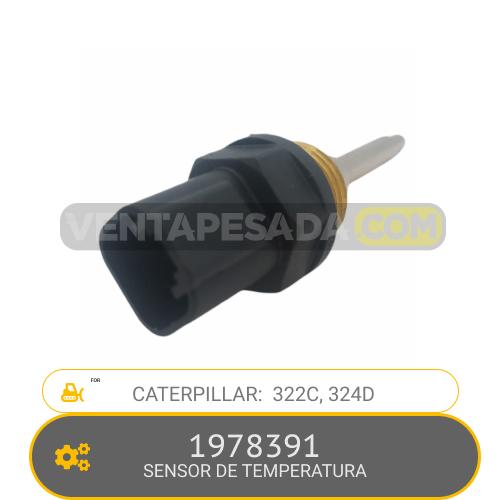 1978391 SENSOR DE TEMPERATURA 322C, 324D, CATERPILLAR