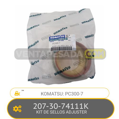 207-30-74111K KIT DE SELLOS ADJUSTER PC300-7 KOMATSU
