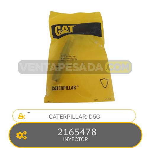 2165478 INYECTOR D5G CATERPILLAR