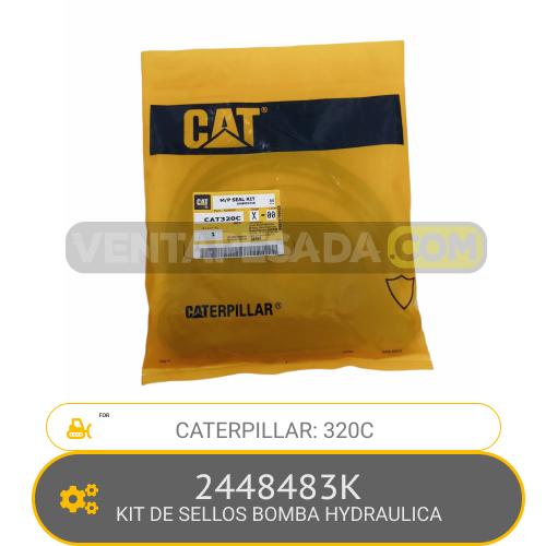 2448483K KIT DE SELLOS BOMBA HYDRAULICA 320C, CATERPILLAR