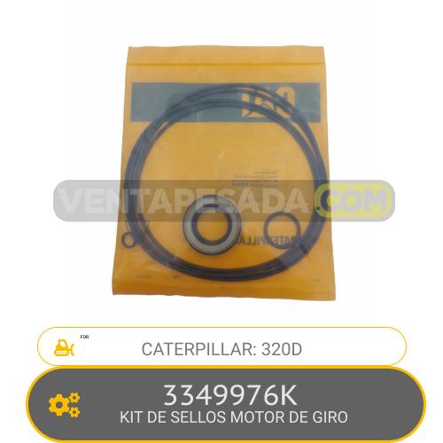 3349976K KIT DE SELLOS MOTOR DE GIRO 320D CATERPILLAR