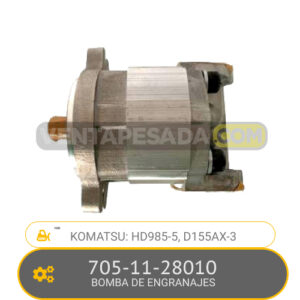 705-11-28010 BOMBA DE ENGRANAJES, HD985-5, D155AX-3 KOMATSU