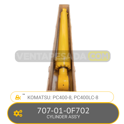 707-01-0F702 CYLINDER ASS´Y PC400-8, PC400LC-8, KOMATSU
