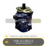 708-1U-00112 BOMBA HIDRAULICA, WB97R-5E0, WB93R-5 KOMATSU