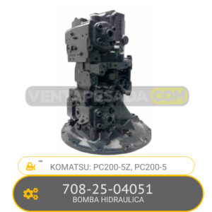 708-25-04051 BOMBA HIDRAULICA, PC200-5Z, PC200-5 KOMATSU