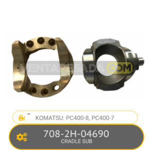 708-2H-04690 CRADLE SUB PC400-8, PC400-7, KOMATSU