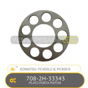 708-2H-33343 PLATO PORTA PISTON PC400LC-8, PC400-8 KOMATSU