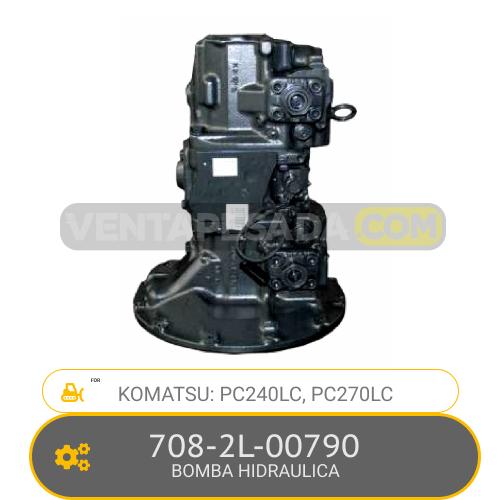 708-2L-00790 BOMBA HIDRAULICA, PC240LC, PC270LC KOMATSU