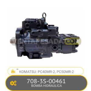708-3S-00461 BOMBA HIDRAULICA, PC40MR-2, PC50MR-2 KOMATSU