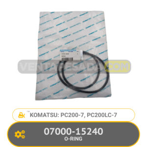 07000-15240 O-RING PC200-7, PC200LC-7, KOMATSU